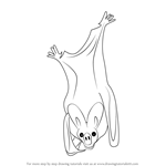How to Draw a Greater False Vampire Bat