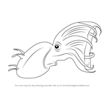 How to Draw a Vampire squid