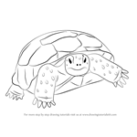 How to Draw a Gopher Tortoise