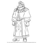 How to Draw Georgius from 11eyes