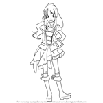 How to Draw Chieri Sono from AKB0048