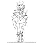How to Draw Haruna Kojima from AKB0048