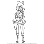 How to Draw Minami Takahashi from AKB0048