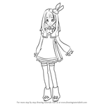 How to Draw Sonata Shinonome from AKB0048