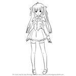 How to Draw Julie Sigtuna from Absolute Duo