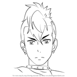 How to Draw King from Aikatsu!