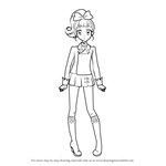 How to Draw Kokone Kurisu from Aikatsu!