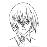 How to Draw Kilik from Air Gear