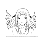 How to Draw Tomita Mari from Air Gear