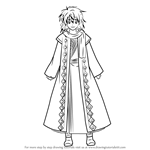 How to Draw Zeno from Akatsuki No Yona