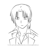 How to Draw Fujimaki from Angel Beats!