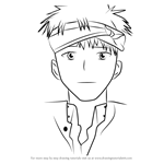 How to Draw Igarashi from Angel Beats!