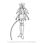 How to Draw Queen from Angelic Layer