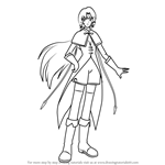How to Draw Tsubaki from Angelic Layer