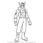 How to Draw Vasquez from Angelic Layer