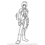 How to Draw Yusari from Angelic Layer