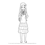How to Draw Menma from Anohana