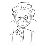 How to Draw Ernst Frederik Egin from Ao No Exorcist