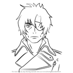 How to Draw Igor Neuhaus from Ao No Exorcist