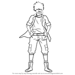 How to Draw Lewin Light from Ao No Exorcist