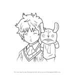 How to Draw Nemu Takara from Ao No Exorcist
