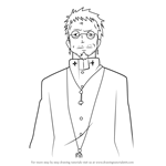 How to Draw Shiro Fujimoto from Ao No Exorcist