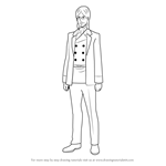 How to Draw Grisha Yeager from Attack on Titan