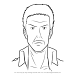 How to Draw Hannes from Attack on Titan