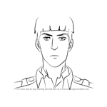 How to Draw Marlowe Freudenberg from Attack on Titan