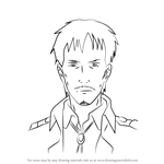 How to Draw Nile Dok from Attack on Titan