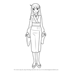 How to Draw Tsukihi Araragi from Bakemonogatari