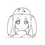 How to Draw Yotsugi Ononoki from Bakemonogatari