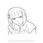 How to Draw Yozuru Kagenui from Bakemonogatari