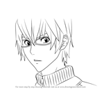 How to Draw Akito Takagi from Bakuman