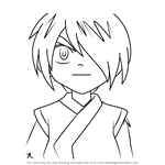 How to Draw Kevin from Beyblade