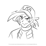 How to Draw Michael Summers from Beyblade