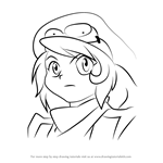 How to Draw Oliver from Beyblade