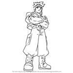 How to Draw Spencer from Beyblade