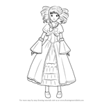 How to Draw Elizabeth from Black Butler