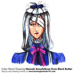 How to Draw Hannah Annafellows from Black Butler