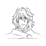 How to Draw Prince Soma from Black Butler