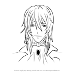 How to Draw Viscount Druitt from Black Butler