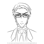 How to Draw William T. Spears from Black Butler