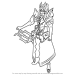 How to Draw Szzu from Black Rock Shooter