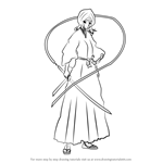 How to Draw Rukia Kuchiki from Bleach