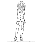 How to Draw Ochaco Uraraka from Boku no Hero Academia