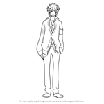 How to Draw Asahina Fuuto from Brothers Conflict