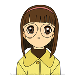 How to Draw Naoko Yanagisawa from Cardcaptor Sakura