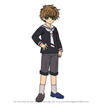 How to Draw Syaoran Li from Cardcaptor Sakura
