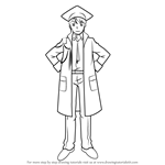 How to Draw Doctor O from Cardfight!! Vanguard